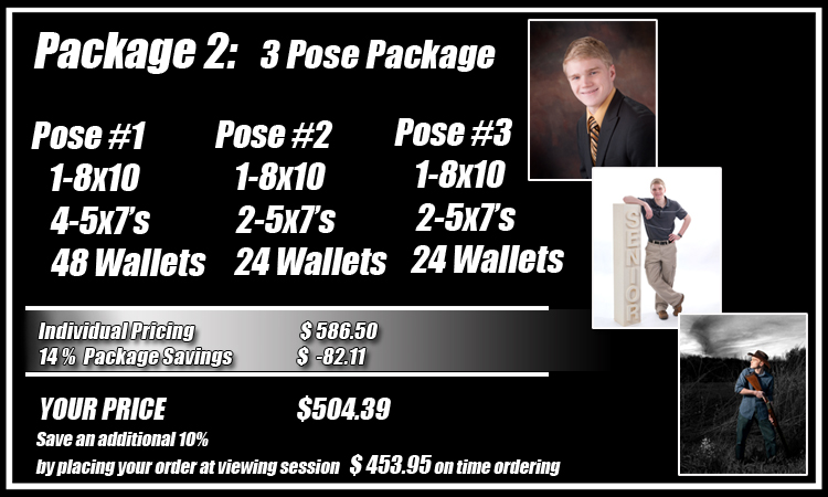 Senior Portrait Pricing Contemporary Photography Studio